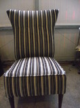 Lake District reupholstery of a nursing chair in Ulverston Cumbria