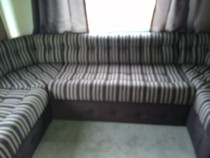 Lake District reupholstery of a static caravan in Flookburgh