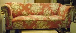 Sofa ready for restoration